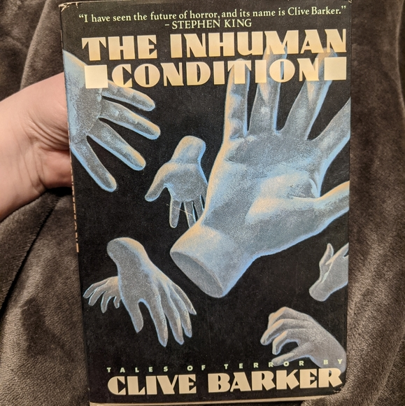 Hardcover Clive Barker The Inhuman Condition 1986